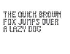 Typeface made for Rijkswaterstaat, by VormVijf