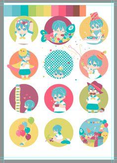Drawn by うゆゆ ... Free! - Iwatobi Swim Club, haruka nanase, haru nanase, haru, nanase, haruka, free!, iwatobi, squishy bean