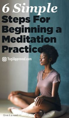 These 6 Things Before Starting a Meditation Practice Give your busy mind a well deserved break. Here are 6 simple steps to begin a regular meditation practice Guided Meditation, Meditation Mantra, Relaxation Meditation, Meditation Practices, Meditation Space, Meditation Meaning, Meditation Benefits, Healing Meditation, Meditation Music