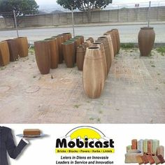 Mobicast ( Bricks, Blocks, Pavers and Kerbs ) has a range of beautiful pots for your garden #pots #garden
