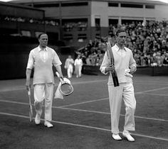 holdhard:  1926 - the Duke of York, later King George VI, competing in the men's doubles at Wimbledon as part of the Jubilee Championships.