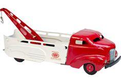 Wyandotte Pressed Steel Toy Aaa Tow Truck