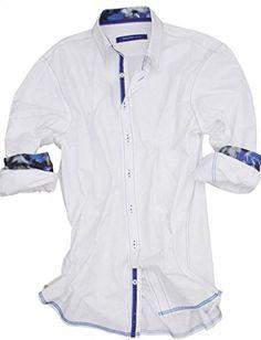 2fbec152153 Georg Roth Los Angeles Men s Fort Walton Beach 3080-023 Long Sleeve Shirt  XXL at Amazon Men s Clothing store