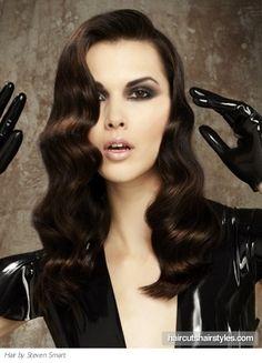 20s hair. -fingerwaves