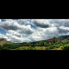 Day hike in Roxborough Park