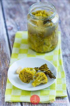 Kiszone brokuły, samo zdrowie i smak przypominający kiszone ogórki, chociaż to nie to samo :). #przepis #brokuł #przetwory #kiszonki