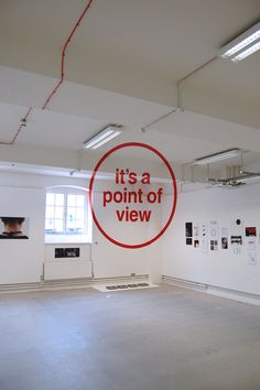 """""""It's all a point of view."""" London-based designer Joseph Egan did this incredible piece of anamorphic typography as part of his final project while studying at the Chelsea College of Art & Design. Graphisches Design, Free Design, Graphic Design, Interior Design, Interior Concept, Stand Design, Interior Paint, Chelsea School Of Art, Typographie Inspiration"""