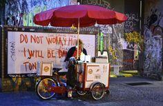 Berlin food vendor