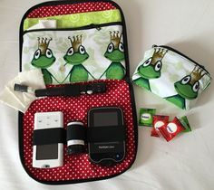 Pumpentaschen - Home Freestyle Libre, Pumps, Needle And Thread, Diabetes, Sewing Patterns, Lunch Box, Projects, Bude, Organizer