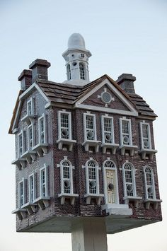 """ Wilmington's Old Town Hall"" Birdhouse by debsteinberg, via Flickr"