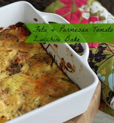 Zucchini Bake with Feta and Thyme | Recipe