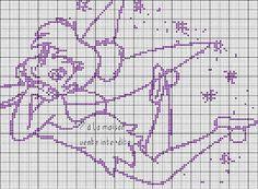 Gráficos de Ponto Cruz: 10 gráficos da Thinkerbell
