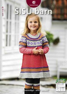 1201 Sisu Barn #sandnesgarn