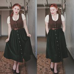 "1,937 Likes, 82 Comments - Rachel Maksy (@rachel_maksy) on Instagram: ""I'm pretty sure my style aesthetic is 50% Sound of Music, and 50% hobbit. """