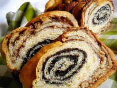 Bucataresele Vesele-retete culinare,retete ilustrate: Cozonac cu cacao si mac
