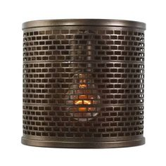 Varaluz Lit-mesh Test 1 Light Wall Sconce By ($139) ❤ liked on Polyvore featuring home, lighting, wall lights, wall sconces, rectangular lamp, rectangle lamp, varaluz, rectangular lighting and varaluz lighting