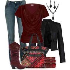 Crimson & Greys