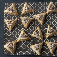 Hamantashen two ways: Traditional-ish and Cinnamon Bun! I want to try both for Purim this year.