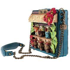 Unique Handbags, Unique Purses, Handmade Purses, Unique Bags, Cute Purses, Luxury Handbags, Purses And Handbags, Mary Frances Handbags, Novelty Bags