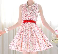 78fbef2f8356 33 Best Summer Time Dresses - Mid Length images