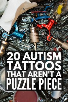 Autism Awareness 79 Meaningful Autism Tattoos You'll Want to Get is part of tattoos Ideas For Kids Names - 79 meaningful and unique autism tattoos for moms and dads designed to celebrate the diversity, courage, and beauty that is autism Autism Awareness Tattoo, Autism Tattoos, Parent Tattoos, Mom Tattoos, Body Art Tattoos, Tattoos For Guys, Sleeve Tattoos, Tattoo Ink, Hand Tattoos