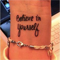First tattoo idea? (: