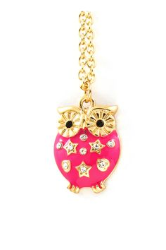 Poppy Owl Pendant   Awesome Selection of Chic Fashion Jewelry   Emma Stine Limited