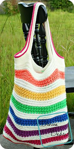 Diana Tote Bag By Divine Debris - Free Crochet Pattern - (ravelry) thanks so xox ☆ ★ https://www.pinterest.com/peacefuldoves/