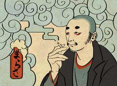Image from http://fc05.deviantart.net/fs70/f/2012/171/7/2/ukiyo_e_style_avatar_by_t_marasa-d547mjz.jpg.