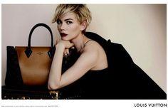 Michelle Williams Louis Vuitton Fall 2013 Campaign