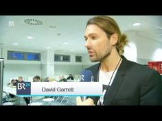 David Garrett interviewed by BR Fernsehen during Εxplosive Live Tour in ...