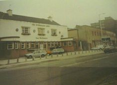 The Sutherland Arms with Burgess's bakery to the right. Aldi supermarket stands there now Old Pottery, Stoke On Trent, Local History, Design Thinking, Newcastle, Old Photos, Bakery, The Past, Arms