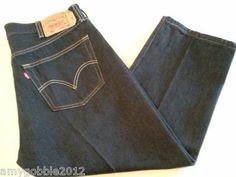 Mens Levi 501 Straight Leg Button Fly $30.55 free priority shipping