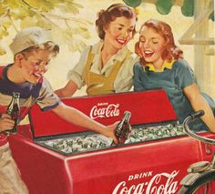 Want something good? Coca Cola, 1951.