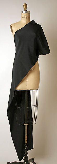 Shirt Designer- Madame Grès (Alix Barton)  (French, Paris 1903–1993 Var region) Date- ca. 1974 Culture- French Medium- silk/ front