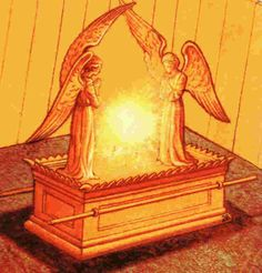 God instructs them in how to make the ark of the covenant  Exodus 25:10-22