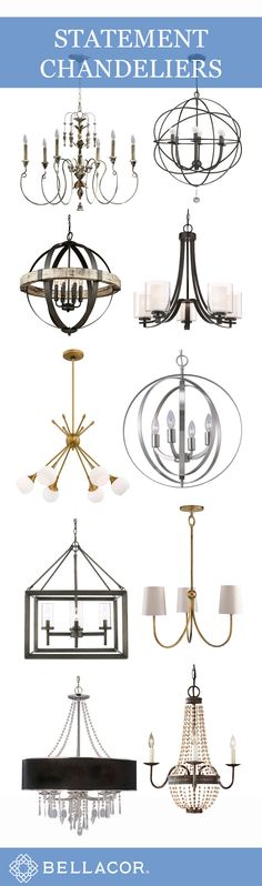Find your next statement chandelier / Up to 85% off / Shop http://www.bellacor.com/chandeliers.htm