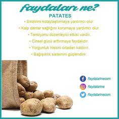 Patatesin faydaları nelerdir #patates