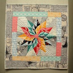 Beautiful miniquilt from Ginny | Flickr - Photo Sharing!