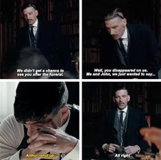 Peaky Blinders Arthur and Thomas Shelby