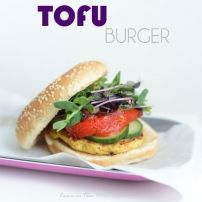Tofu also known as bean curd, is a common ingredient in Asian cooking, especially Chinese and Japanese cuisine. Tofu by itself is tasteless. Tofu Burger, Salmon Burgers, Asian Cooking, Pesto, Avocado, Sandwiches, Wraps, Chicken, Ethnic Recipes