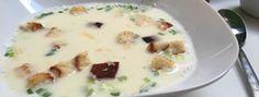 Wzmacniająca zupa czosnkowa - Patchwork