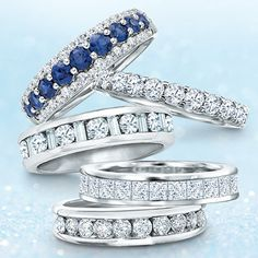 Dazzling Diamond Wedding Bands