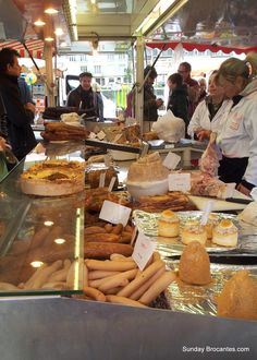 les marchés à  Paris