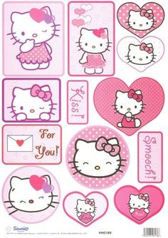 Hello kitty! ♡ XD ♡. I need to give out hello kitty valentines this year! Hello Kitty Art, Hello Kitty Themes, Hello Kitty Images, Hello Kitty Birthday, Sanrio Hello Kitty, Decoracion Hello Kitty, Miss Kitty, Hello Kitty Wallpaper, Cat Valentine