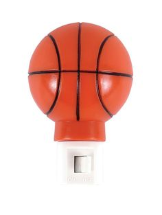 Basketball Design Incandescent Night Light GE 52058 Deco Sports Style Plug-in  #GE