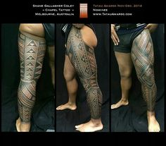 how samoan tattoos are done Black Ink Tattoos, Leg Tattoos, Tribal Tattoos, Sleeve Tattoos, Polynesian Leg Tattoo, Samoan Tattoo, I Tattoo, Couple Tattoos, Tattoos For Guys
