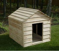Giant Breed Cedar Wood Dog House