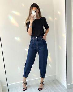 "MY CLOSET ATELIER ᢁ no Instagram: ""📸 classic • calça 179 blusa 139 . . . #modacasual #estilo #looktrabalho #imagemeestilo #moda #luizabarcelos"""