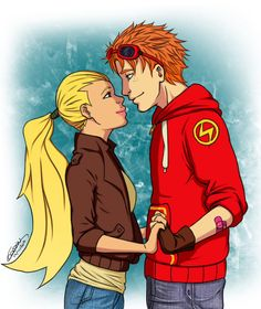 Young Justice - Wally West x Artemis Crock - Spitfire